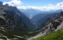 Тре-Чиме-ди-Лаваредо, Доломиты, Италия