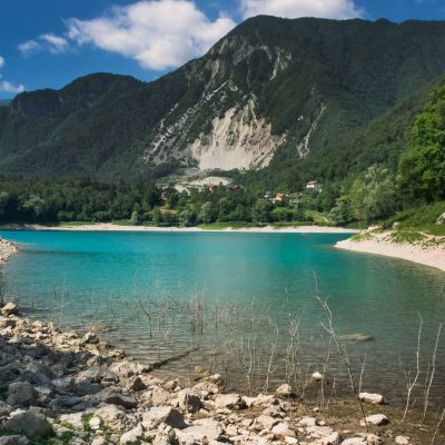 Озеро Тенно, Трентино, Италия