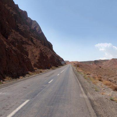 По дороге в Керман, Иран