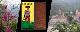 Шоколад 62%-какао из Индии на берегу Ганги в Ришикеше, Индия