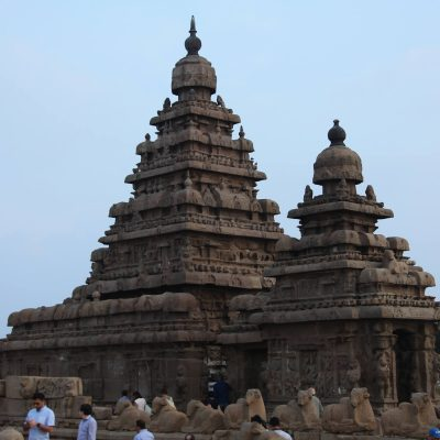 Shore Temple, Махабалипурам