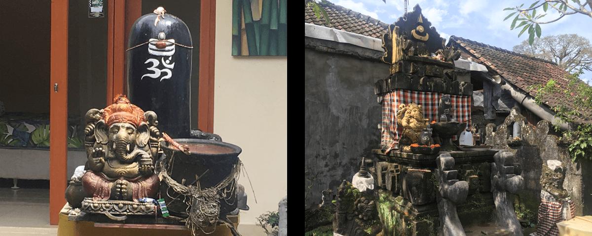 В доме священника — настоятеля храма Шивы и хранителя пальмовых листьев, Бали